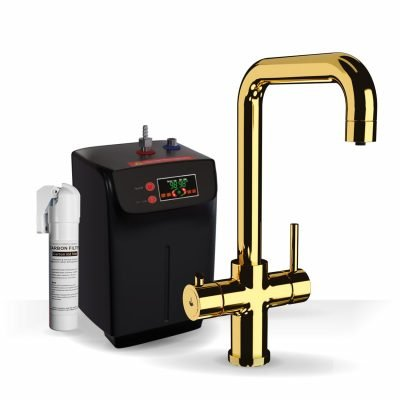Profile Gold 3-1 Square Instant Boiling Water Tap
